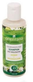 Orientana Ajurwedyjski Szampon do włosów JAŚMIN I MIGDAŁECZNIK, 210ml