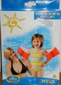 Intex Rękawki dla dzieci pomarańczowe 58642