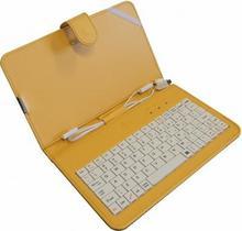 ART ETUI + Klawiatura micro+mini USB DO TABLETU 7 AB-101D yellow TORTAB AB-101D