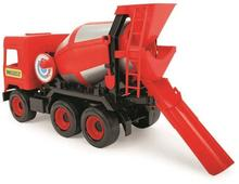 Wader Middle Truck betoniarka czerwona