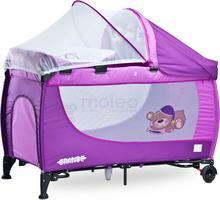 Caretero Grande Purple łóżeczko turystyczne