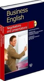SuperMemo World Business English. Negotiations and presentations - książka z płytą CD