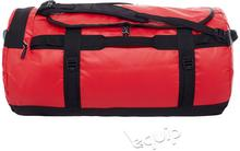 The North Face torba podróżna Base Camp Duffel L II - red/czarny 95 l 70 x 40 x 4