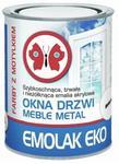 Emolak Emalia akrylowa  Eko biała 0 8 l połysk