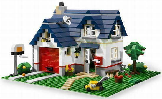 LEGO Miły domek rodzinny 5891