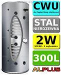 Joule Bojler CYCLONE 300L SLIM 2-wężownice 2W wysoki i wąski, nierdzewka wymienn