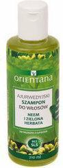 Orientana Ajurwedyjski szampon do włosów NEEM I ZIELONA HERBATA 210ml