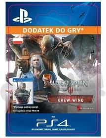 Sony Wiedźmiń 3 Dziki Gon Krew i Wino DLC [kod aktywacyjny] Dostęp po opłaceniu zakupu