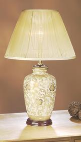 Elstead Lighting Lampa stołowa LUIS COLLECTION LUI/Złoto THISTLE + LUI/LS1007-
