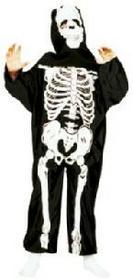FUNNY FASHION Halloween Strój szkielet 404034