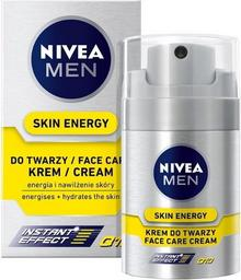 Nivea For Men Skin Energy Q10 Regenerujący Krem do twarzy 50ml