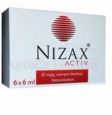 Hasco-Lek NIZAX ACTIV Szampon leczniczy - 6 x 6ml