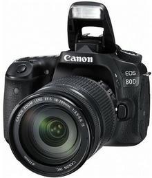 Canon EOS 80D + 18-200 IS czarny