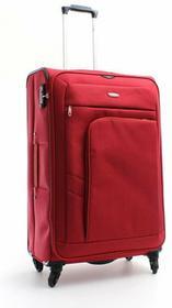 Dielle walizka podróżna duża na 4 kółkach 107L 650 - Czerwony 650/70 rosso