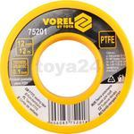 Opinie o Vorel TAŚMA PTFE 12Mx12MMx0.1MM 75201