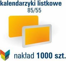 Kalendarzyki listkowe 85/55 - 1000 szt.