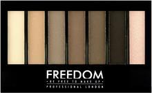 Freedom Pro Shade & Brighten Paleta do makijażu Mattes Kit 1 szt