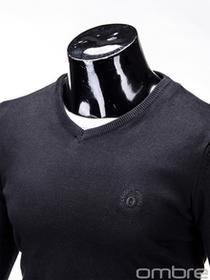 Ombre Clothing SWETER E74 - CZARNY