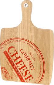 Excellent Houseware EH Deski drewniane deska do sera CHEESE - prostokątna z uchwytem 1
