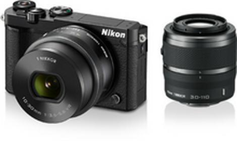 Nikon1 J5 + 10-30 + 30-110 kit czarny