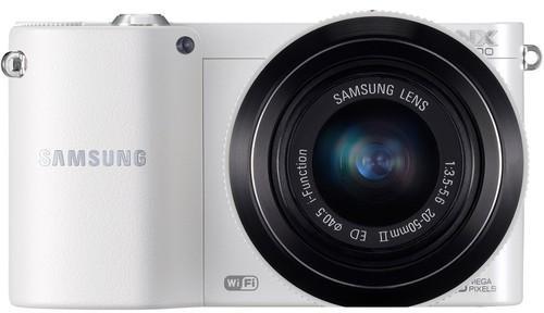 Samsung NX1100 + 20-50 II kit biały