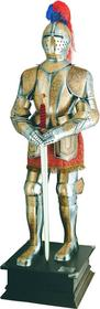 Płatnerze hiszpańscy ZBROJA RYCERSKA 1:1 Z XVI w. ZŁOTY GRAWER