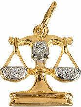Tyfanit Złoty znak zodiaku - waga ZZ7