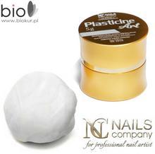 Nails Company PLASTELINA DO ZDOBIEŃ - White - 5 g - Plasticine Art