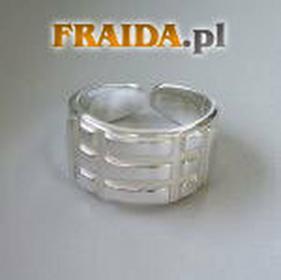 Firma CiszakPierścień Atlantów srebrny AgC