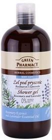 Green Pharmacy Body Care Rosemary & Lavender żel pod prysznic 0% Parabens, Silic