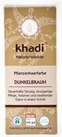 KhadiHenna naturalna ciemny brąz