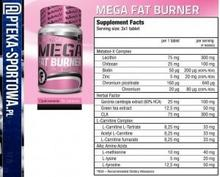 Bio Tech Mega Fat Burner - 90 tabl