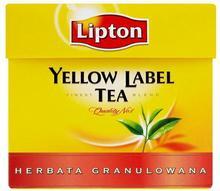 Lipton Herbata czarna Yellow Label granulowana 100 g