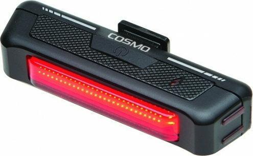 Mactronic COSMO, wyjątkowo jasna, ładowalna, tylna lampka rowerowa. BPM-5SL