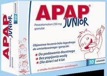 US Pharmacia Apap Junior 10 szt.