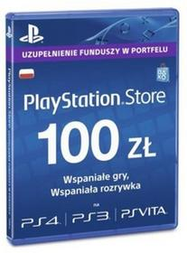 Sony Playstation Live Cards Hang 100 Pln 9893332