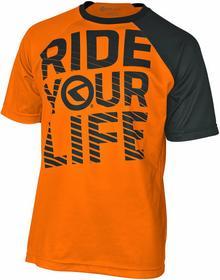 Kellys orange Koszulka enduro RIDE YOUR LIFE