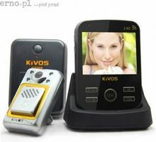 Wideodomofon bezprzewodowy z czujnikiem ruchu KIVOS KDB300m4