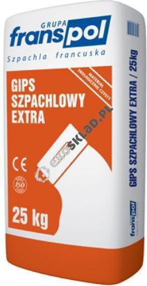Franspol Gips szpachlowy extra 5kg czerwony worek FRAFRPOL7