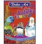 Dako-Art Andulka Fructo proso witaminizowane z owocami dla ptaków egzotycznych 500g