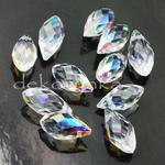 (6010) Zawieszka BRIOLETTE kropla 13mm Crystal AB
