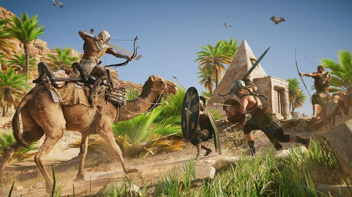 Assassins Creed Origins Edycja Gods PS4