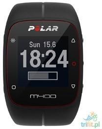 Polar M400 GPS czarny