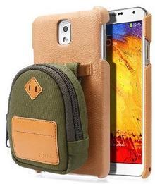 Zenus Mini Pack Case/torba na zielonym do Samsung Galaxy Note 3 N9000