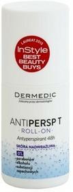 Dermedic Antipersp T antyperspirant roll-on do bardzo wrażliwej skóry 48 h 60 g
