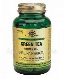 SOLGAR GREEN TEA WYCIĄGLIŚCI - 60 kaps. 8314201