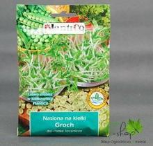 PlantiCo Nasiona na kiełki GROCH 80g