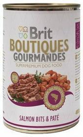 Brit Boutiques Gourmandes Salmon Bits & Paté - Łosoś z pasztetem 400g 5111