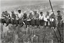 Robotnicy na belce - Obraz, reprodukcja