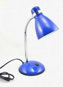 Quant Lampka biurkowa Delta Niebieski E27 40W